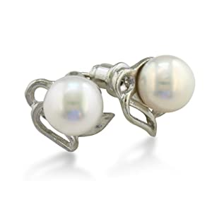 Angel Freshwater Pearl Stud Earrings