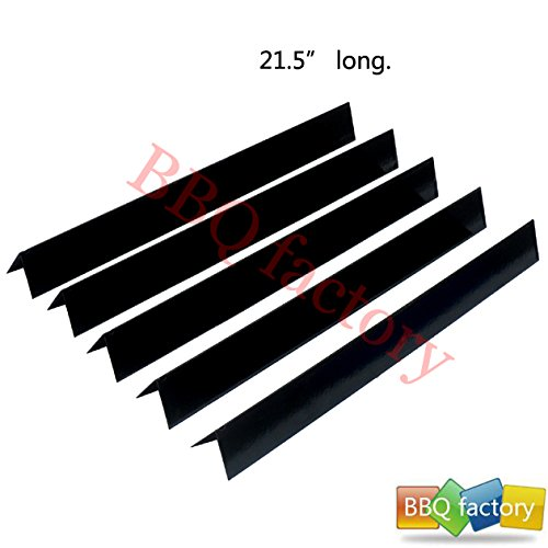 bbq factory JPX35 JPX34 Replacement Porcelain Steel Flavorizer Bars / Heat Plate, Set of 5, 21.5