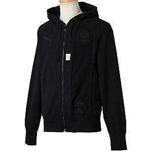 PUMA Herren Sweatshirt BVB Archives Zipthrough Hooded, Black, M, 745919 01