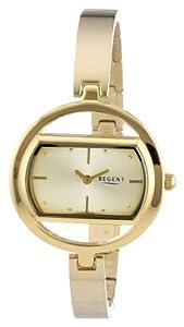 Regent Damen-Armbanduhr XS Analog Quarz Edelstahl beschichtet 12210884