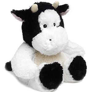 Bouillotte peluche vache