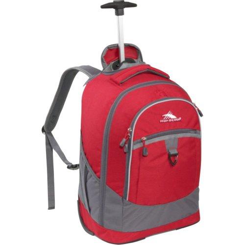 High Sierra Chaser Wheeled Book Bag (20 X 13.5 X 8-Inch, Red)