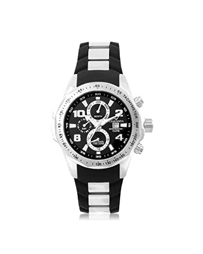 Aquaswiss Men's TR802004 Trax II Black Silicone Watch