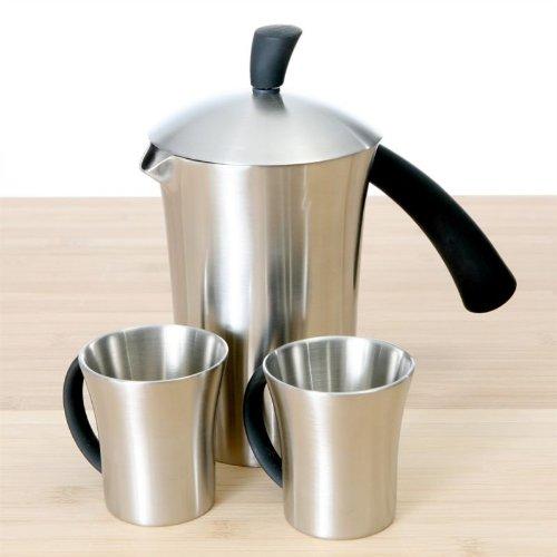 SEFAMA HOT COFFEE Service cafetière + 2 tasses