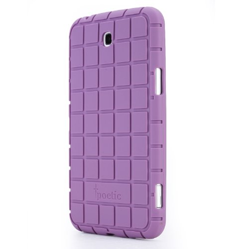 Poetic Samsung Galaxy Tab 3 7.0 Case [GraphGrip Series] - Protective Silicone Case for Samsung Galaxy Tab 3 7.0 (SM-T210 / SM-T211 / SM-215) Lavender (3-Year Manufacturer Warranty from Poetic)