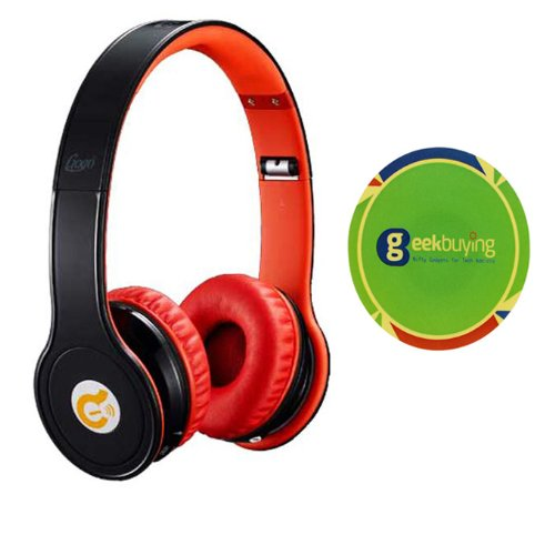Syllable G15 Wireless Bluetooth Noise Reduction Cancellation Headphones With Free Geekbuying Nfc Tags Stickers (Black)