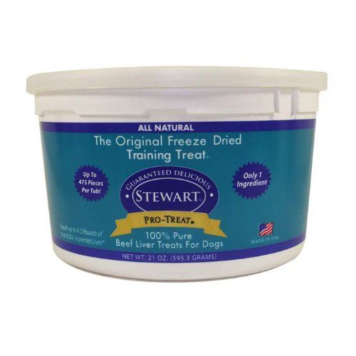 Stewart Pro-Treat Freeze Dried Beef Liver 21 Oz.