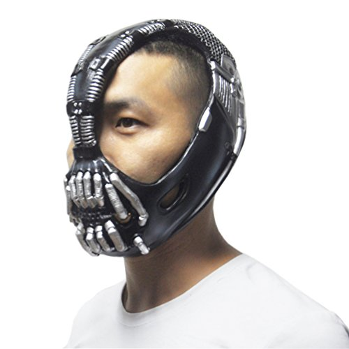 KingMas® Bane Mask The Dark Knight Batman Movie Halloween Costume Cosplay Prop