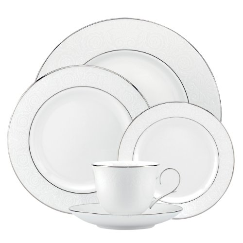 Lenox 837593 Artemis 5-Piece Place Setting, White