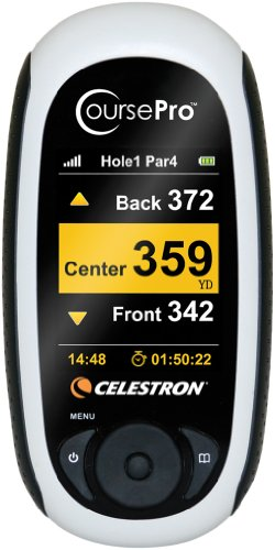 Celestron Course Pro GPS Personal Golf Caddy - Grey
