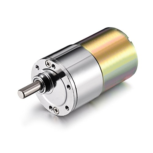 uxcell DC 12V 1000RPM Micro Gear Box Motor Speed Reduction Electric Gearbox Eccentric Output Shaft
