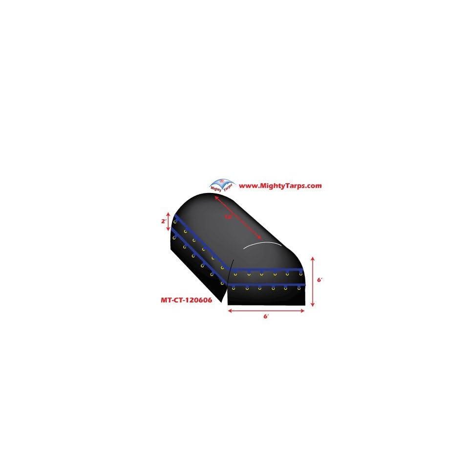 "Mighty Mesh Tarp, Donovan C6041 96/""x27/' for Dump Truck or Roll Off 8/'"