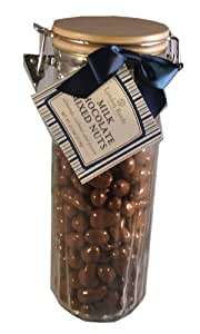 Lyndon Reede Collections Decadent Milk Chocolate Covered Almonds Cashews and Pecans Mother's Day Gift Container