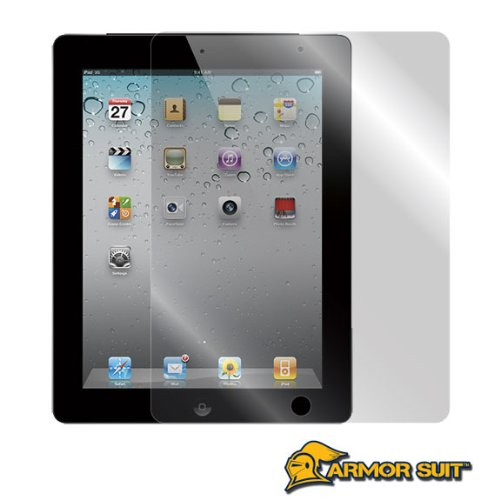 ArmorSuit MilitaryShield - Apple iPad 2 Screen Protector Shield with LIFETIME REPLACEMENTS