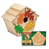 Melissa & Doug Build & Paint-Your-Own Birdhouse