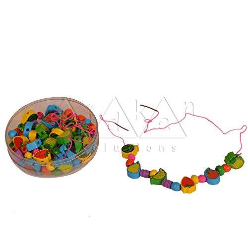 Kidken Fruits Threading Beads wooden toys,toys