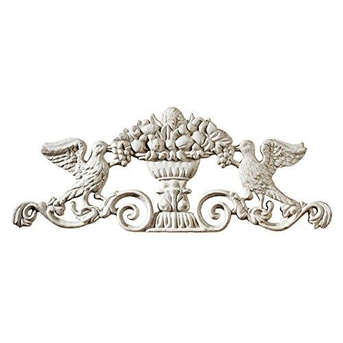 Design Toscano Urn Ornamental Architectural Pediment Wall Art (Design Toscano Urn compare prices)