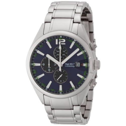 [エンジェルクローバー]Angel Clover 腕時計 タイムスナイパー アーバンブルー・コレクション ネイビー文字盤 ステンレスベルト デイト クロノグラフ TS40SNV メンズ