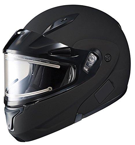 New Hjc Snow Cl-Max Ii Helmet With Electric Lens, Matte Black, 5Xl
