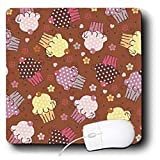 TNMGraphics Food and Drink - Chocolate Cupcake Design - Mouse Pads