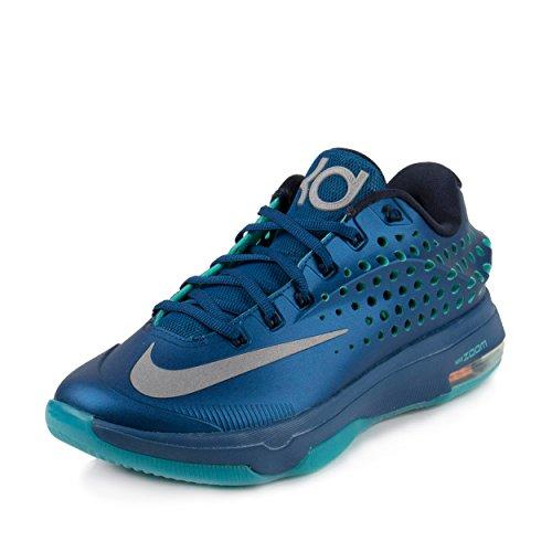 Mens Kd Vii Elite di pallacanestro scarpe da ginnastica blu / lt / retro incontrato argento 724.349-