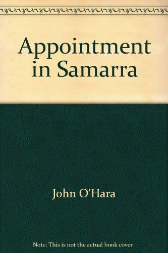 Appointment in Samarra ; Butterfield 8 ; Hope of Heaven