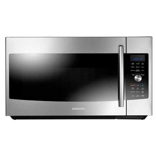Read About Samsung MC17F808KDTOver-The-Range Convection Microwave, 1.7 Cubic Feet