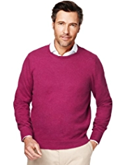 Collezione Cotton Rich Jumper with Cashmere