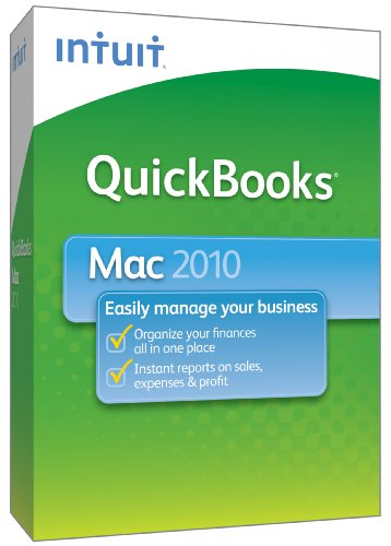 QuickBooks 2010 for Mac