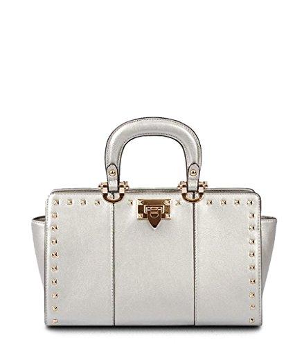 Mabel Mini Studded Satchel Bag
