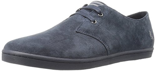 FRED PERRY - - Uomo - Sneakers Byron Suede Bleu Marine Mono pour homme -