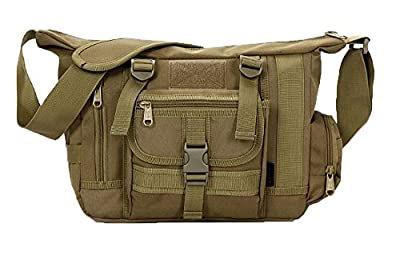 SoldierWill Unisex Sports Military Shoulder Crossbody Messenger Bags