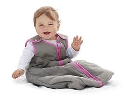 Baby Deedee Sleep Nest Baby Sleeping Bag, Slate Hot Pink, Medium