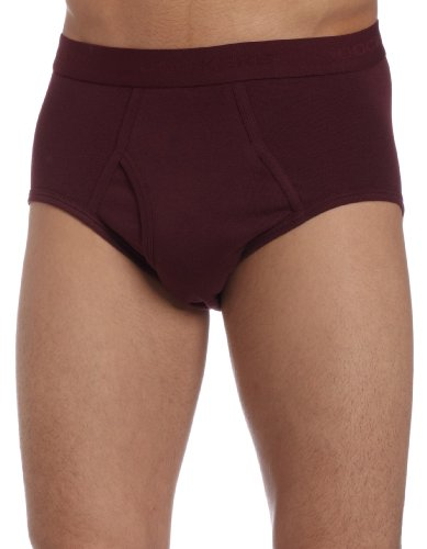 Dockers Men's 4 Pack Fly Front Full Rise Brief