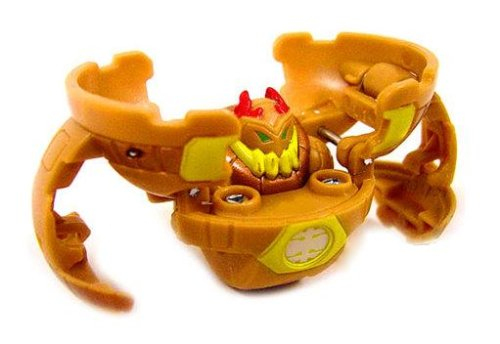 Bakugan New Vestroia Bakuneon LOOSE Single Figure Sub Terra Brown KILROY