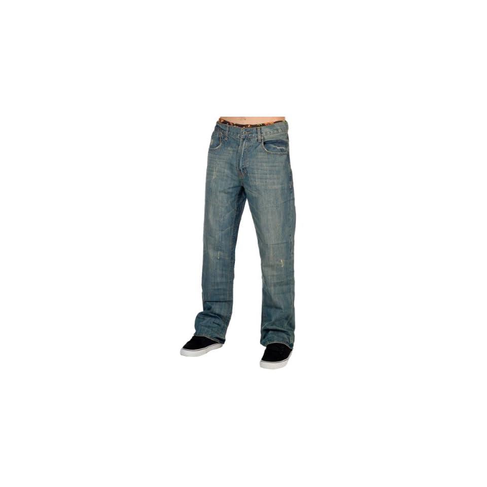 Fox 2012 Mens Duster Jean   43007 (Medium Vintage   33)