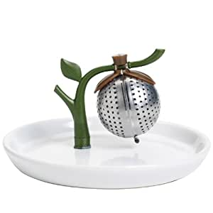 Arta Tea Infuser and Saucer
