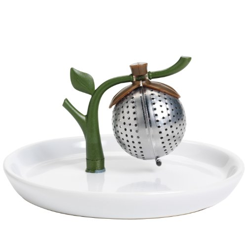 Arta By Chef'N Tea Tree Tea Infuser And Saucer