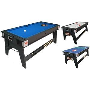 Strikeworth 6 Foot Multi Game Table Best Deals In UK