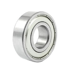 17mm/40mm/12mm Metal Sealed Deep Groove Ball Bearing 6203Z