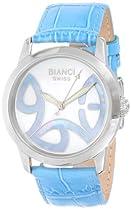 Roberto Bianci Midsize 1858LEA_WHTMOP Mother of Pearl European Dial Watch