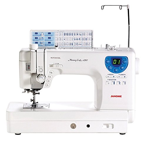 Janome MC-6300P Professional Heavy-Duty Computerized Quilting Sewing Machine w/ Extension Table, Walking Foot, Darning Foot and More! (Janome Monogram compare prices)