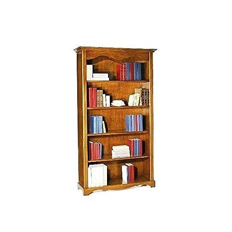 Libreria noce tanganica cm 120x40, h 210