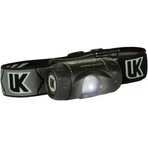 Underwater Kinetics 3 AAA Vizion eLED Headlamp (Black)