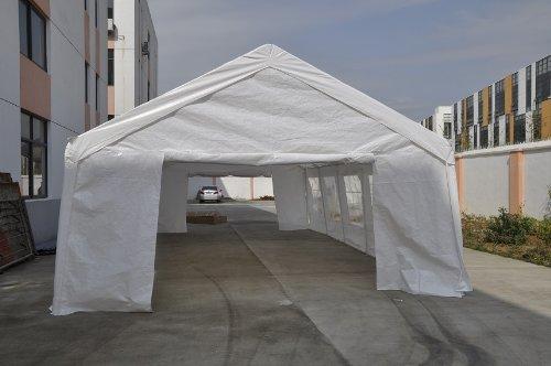 Exacme White 32x16' Heavy Duty Carport Party