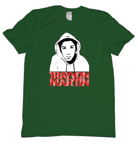 Justice Trayvon Martin Tee Shirt Mens S Green U