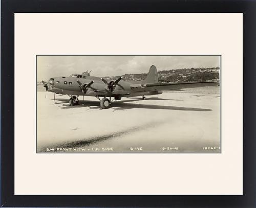 Framed Artwork of Boeing B-17E Flying Fortress September 1941