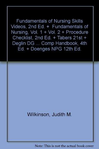 Pkg: Skills Video 2e, Fund of Nsg Vol 1 & 2 2e, Proc Cklist, Tabers 21st, Deglin DG 12th, Van Leeuwen Comp Hnbk 4th,