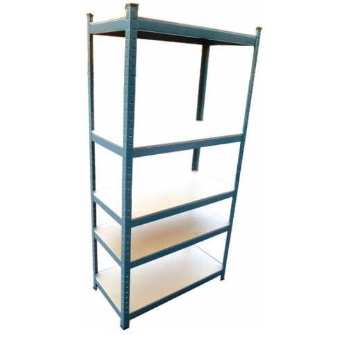 heavy duty boltless 5 tier steel. Black Bedroom Furniture Sets. Home Design Ideas