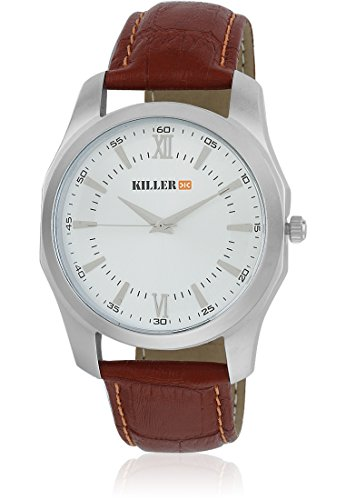 Killer Silver Dial Men's Watch KLW180A